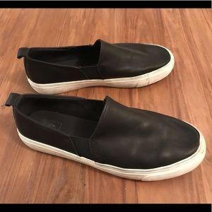 Gap Leather Slip-on Sneakers